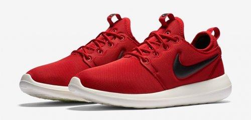 Nike Roshe Run Two Team Red Black £40 office