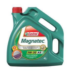 Castrol MAGNATEC Engine Oil 5W-30 A5 4L £18.50 (Prime) / £23.25 (non Prime) at Amazon