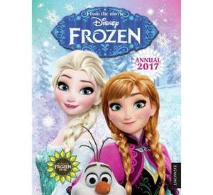 "Frozen ""At Argos"" Latest 2017 annual - £1"