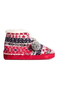 Ladies christmas knitted slipper boots £6.49 delivered,reduced from £12.99