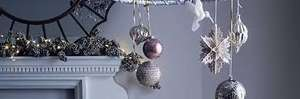House of Fraser Christmas Decorations and trees 50% off