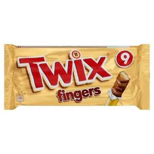 Morrisons: Twix Biscuit Fingers Multipack 9 x 23g £1