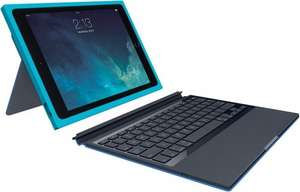 Logitech BLOK Protective Wireless UK Keyboard Case & Cover for iPad Air 2. £15.99 ebay /  trusted_goods