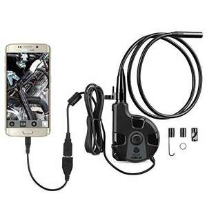 USB Inspection Camera Endoscope, HD Borescope Camera For Android Phones @ £13.99 for small or £15.99 for medium with Prime Sold by JT-UK and Fulfilled by Amazon
