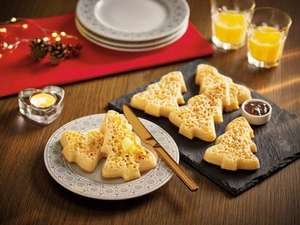 ASDA Christmas Tree Crumpets (6 pack) - £1.00 - Asda