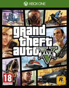Grand Theft Auto V with $2.5 Million for use in GTA Online (XBOX One and PS4) £24.99 @ GAME