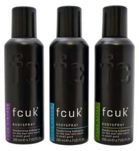 Half price men's FCUK including gift sets eg deodorant trio was £10 now £5, Wash bag sport gift set was £14 now £7 @ Boots