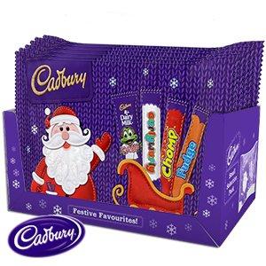 Buy Cadbury Christmas Selection Box (Case of 24) at Home Bargains - £18