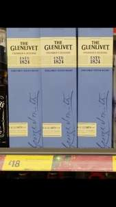 The Glenlivet Founders Reserve Whisky 70cl £18 @ Morrisons