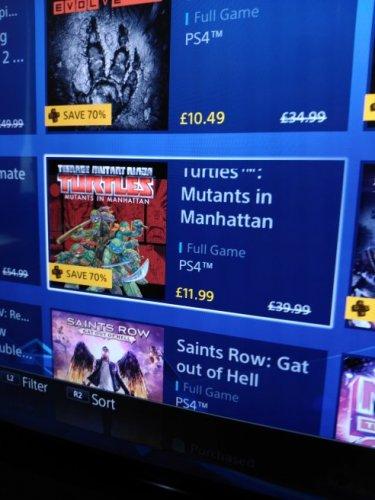 TMNT Mutants in Manhattan @ PSN £11.99 with PS Plus