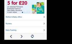 All pampers essential packs 5 for £20 Boots