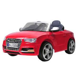 Child's 6v Audi S5 ride on £99.99 smythstoys
