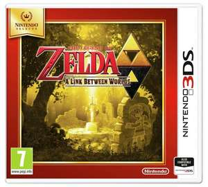 The Legend of Zelda: A Link Between Worlds (Selects) - Nintendo 3DS @ Tesco - £12.00 with Click & Collect or Free Delivery