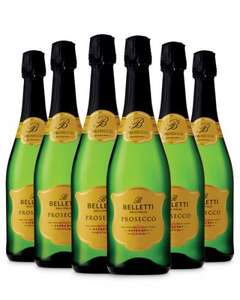 6 bottles of amazing review Belletti Prosecco was £32.34 now £29.99 (£4.99 a bottle) with free delivery @ Aldi