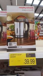 Soup & Smoothie Maker @ B&M Mansfield £39.99 in (sainsbury its £68)