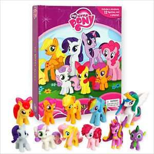 My Little Pony My Busy Books (includes 12 My Little Pony toys) £5 @ Tesco
