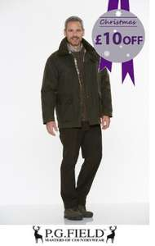 A variety of P.G Field Country/Winter Wear on Sale @ Edinburgh woolen mill