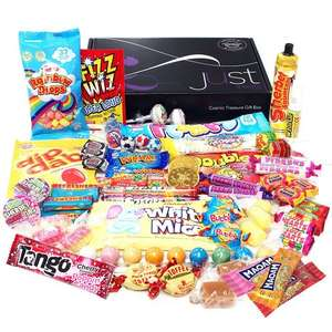 Retro Sweets Hamper: Just Treats Lunar Gift Hamper: Jam Packed with the Best Ever Retro Sweets £8.72 Prime @ Amazon (or add £4.74 non-Prime)