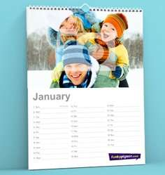 A3 Personalised Photo Calendar £9.60 inc del @ Funkypigeon.com