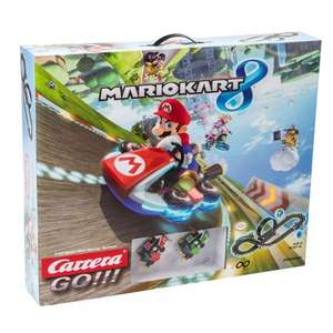 Carrera Go Mario Kart 8 track 360 degree loop set with Mario & Luigi was £54.99 now £39.99 @ Argos