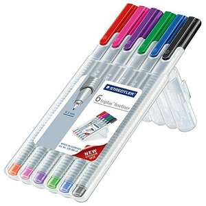 Staedtler Fineliner Fashion 6 Pack 1/2 PRICE £2.50 WAS £5 TESCO DIRECT (FREE NEXT DAY C+C)