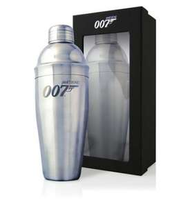 Free James Bond Cocktail Shaker with Select Fragrances Purchase - Boots