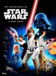 Personalised my adventures - in Star Wars IV: A New Hope (Regular soft cover) £4.99 delivered @ Identity Direct