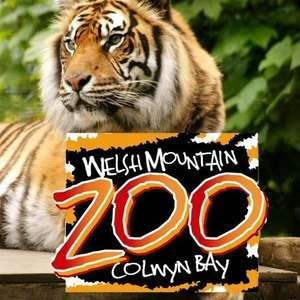 Half price entry from 10th December until 1st January eg Family of 4 was £38.10 now £19.05 @ Welsh Mountain Zoo