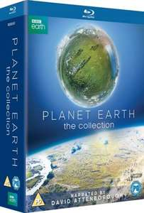 Planet Earth Blu-Ray Collection £21.24 (With Code 15DEC2016) @ Zoom