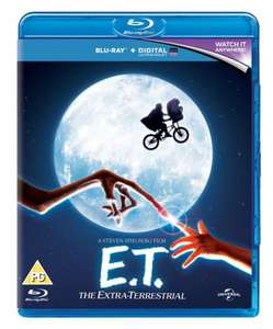 [Blu Ray] E.T - £4.15 / Jaws (with UltraViolet Copy) - £4.32 - Zoom