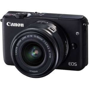 Canon Canon EOS M10 Digital Camera with 15-45mm f3.5-6.3 IS STM Lens - £219 @ Very ( can potentially get it for £190)