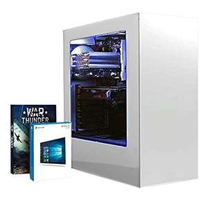 Vibox Pegasus 18 Gaming PC - with Warthunder Game Bundle, Windows 10 (3.6GHz Intel i7 Quad Core Processor, Nvidia Geforce GTX 980 Ti Graphics Card, 240GB Solid State Drive, 3TB Hard Drive, 32GB RAM, NZXT S340 (White) Case @ Amazon