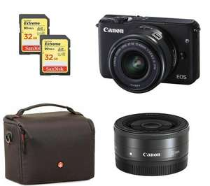 Canon M10 bundle in £370.49 at Currys