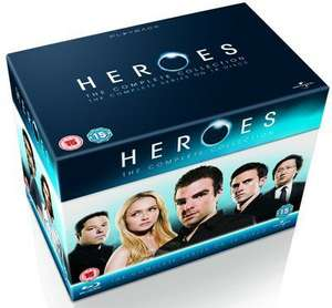 Heroes the complete collection boxset on blu ray £17.08 @ zoom.co.uk