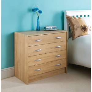 4 Drawer Chest (Copenhagen) £39.99 @ B&M instore