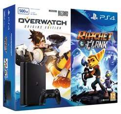 PlayStation 4 500GB Slim with Overwatch and Ratchet & Clank £219.99 Delivered @ GAME