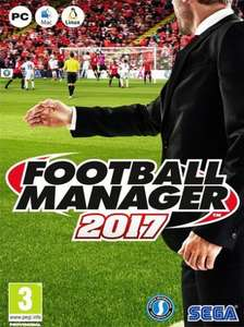 Football Manager 2017 Limited Edition (PC CD) £18 @ Amazon