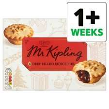 Mr Kipling Mince Pies 6pk £1.50 Buy One Get One Free @ Tesco