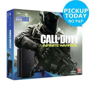 BRAND NEW PS4 Slim 500GB Call of Duty Infinite Warfare Console Bundle - EBAY ARGOS