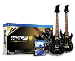 [PS4] Guitar Hero: Party Pack - £27.00 (C&C) - eBay/Argos (10% off £25 spend - CEBAYARGOS)