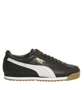 Puma Roma trainers (distressed Black or Brown CWs) £25 free click and collect @ Office.co.uk (office shop) + 3.3% quidco