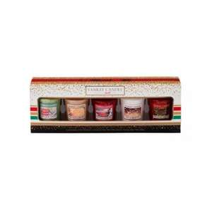 Yankee Candle 5 Votive Xmas 2016 Gift Set only £5.99 delivered @ internet gift store