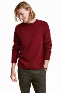 H&M Online Gift of the Day 50% off Men's Wool-blend Jumper and free delivery £12.49
