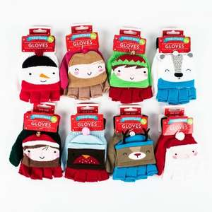 Christmas Gloves 99p Card Factory instore