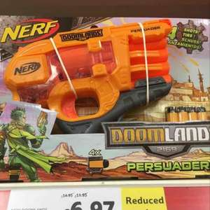 nerf doomlands persuader better than half price £6.97 instore @ tesco