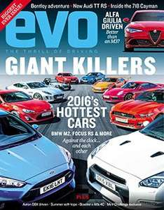 Evo magazine 5 issues plus free 26 piece toolkit - £5 @ Subscribe Online