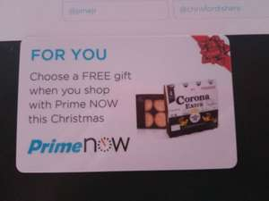 Free chilled Corona 4-pack or box of Morissons The Best Mince Pies with code XMASGIFT on Prime Now