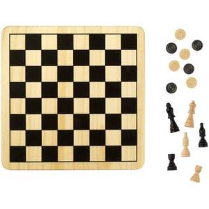 John Lewis Chess & Draughts Game £10.50 (was £15) + £2 c&c 30% reduction applied