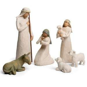 Amazon Daily Deals: Willow Tree Nativity Scene £53.99 (Free Delivery)
