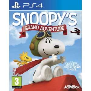 The Peanuts Movie: Snoopy's Grand Adventure (PS4) £9.99 Delivered @ TheGameCollection
